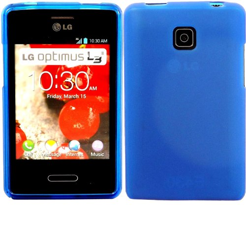 Katinkas Soft Gel Cover for LG L3 II, Blue