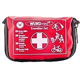Buy and Happy GbR Das Erste Hilfe Set für (Reisen, Outdoor, Sport)| die Sicherheit in kleiner Verpackung mit Erste Hilfe Karte | überall zu verstauen