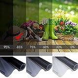 Tönungsfolie Sonnenschutzfolie Scheibenfolie Fensterfolie Sichtschutzfolie Folie Autofolie 85% 300x75cm