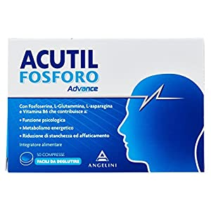 Acutil Fosforo Advance - 50 compresse da 250 mg, Totale: 12.50 g 3 spesavip