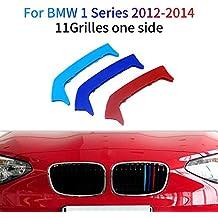M-Colore Franjas Decorativas para Parrilla Delantera para 1 Series 116i 118i 120i 2012-