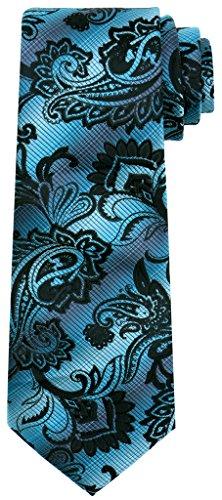 Corbata gótica azul