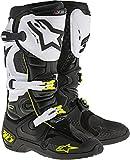 Alpinestars TECH 10 Motocross Stiefel schwarz weiss Größe: 13 US (48 EU)