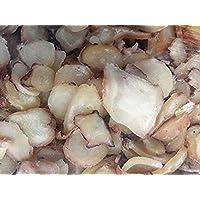 3 libras (1362 gramos) de carbón asado concha rebanadas de aperitivo del mar de China