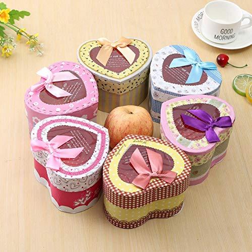 AGSHOP Geschenkbox. Heiligabend Apfel Box Kuchen, Kekse, Leckereien, Candy Handmade Bath Bombs Dusche Seifen Geschenkboxen Weihnachten, Geburtstage, Feiertage, Hochzeiten