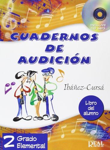 Cuadernos de Audición, 2 Grado Elemental (Libro del Alumno) (RM Audicion)