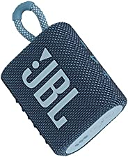 JBL GO3 Portable Bluetooth Speaker Blue