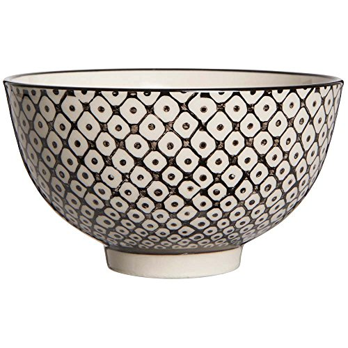IB LAURSEN - Coupelle grès motif géométrique noir et blanc IB Laursen Casablanca