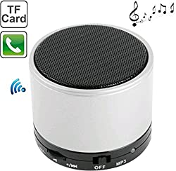 POSHSHOP Wireless Bluetooth Speaker S10 Handfree with Calling Functions & FM Radio (silver )