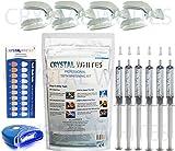 Crystal Whites Blue X6 Gel Deluxe Home Teeth Whitening Kit