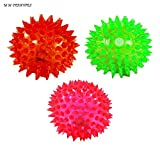 #8: NPRC Elastic Spike Ball with LED flash light & Sound - 6 cm