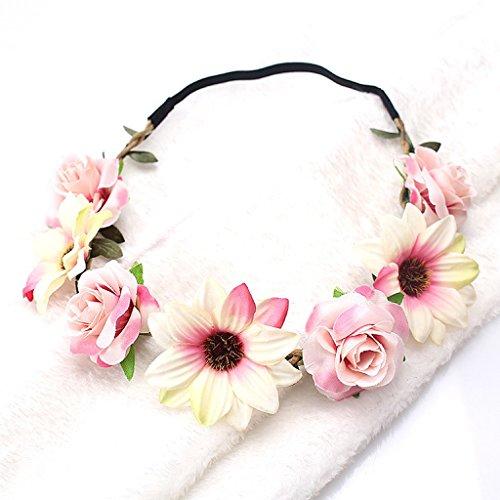 Manyo Boho Style Floral Blume Frauen Mädchen Hairband -