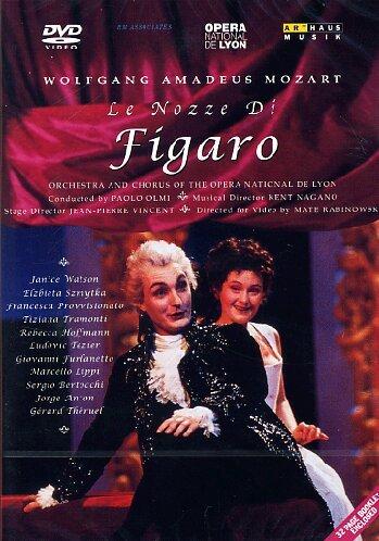 Mozart, Wolfgang Amadeus - Die Hochzeit des Figaro (Le nozze di Figaro) (Opera National de Lyon) (Adrette Kostüm)
