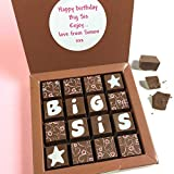 Gift for Sister - Big Sister Gift - Chocolates for BIG SIS...