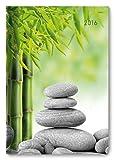 Buchkalender Zen 2016 - Bürokalender A5/Cheftimer A5-1 Tag 1 Seite - 352 Seiten