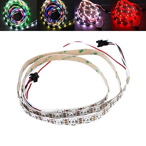 Global SOLMORE 1M WS2812 WS2812B 5050 SMD Adressable 30LED Strip Light Non étanche IP20