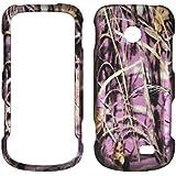 2D Pink Camo Gras Samsung T528G gerade Talk Schutzhülle Hard Case Snap On Cover Gummiert Touch Blenden
