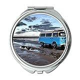 Yanteng Spiegel, Travel Mirror, Beach Campervan, Taschenspiegel, tragbarer Spiegel