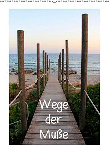 Wege der Muße (Wandkalender 2019 DIN A2 hoch): Ein kleiner Spaziergang durch den Wald, über Felder oder Wiesen offenbart einem hinter jeder Ecke oder ... (Monatskalender, 14 Seiten ) (CALVENDO Natur) (Feld-ecke)