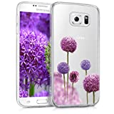 kwmobile Samsung Galaxy S6 / S6 Duos Hülle - Handyhülle für Samsung Galaxy S6 / S6 Duos - Handy Case in Pink Violett Transparent
