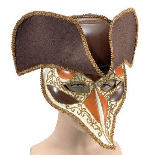 Deluxe Highwayman Venedig Fasching Anzug Augen Maske
