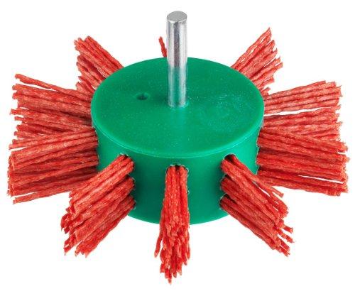 Connex COM219100 Fächerbürste 100 mm, Nylon rot