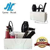 Love Nest Fönhalter Weiß Persönlichen Schlange Haartrocknerhalter Leder und Keramik