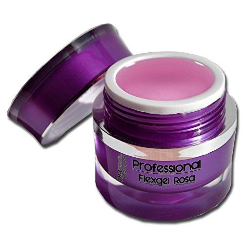 rm-beautynails-professional-flexgel-gel-uv-flexible-de-construction-viscosite-epaisse-rose