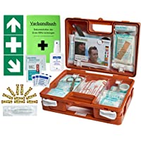 Erste-Hilfe-Koffer KITA M1 -Paket 1- nach DIN/EN 13157 für Betriebe + DIN/EN 13164 für KFZ incl. 1.Hilfe Aufkleber... preisvergleich bei billige-tabletten.eu