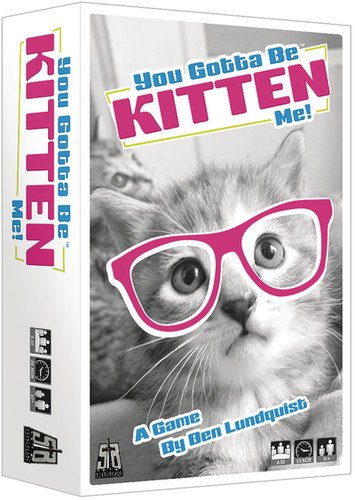 Ultra Pro You Gotta Be Kitten Me! - A Fast Fun Party Game!