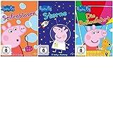 Peppa Pig -Seifenblasen+Sterne+Ballonfahrt-3 DVDs-SET (6+7+8)