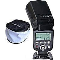 Yongnuo YN560III YN560–III Flash Flash Dispositivo con wecellent Mini Softbox Difusor para Canon Nikon Olympus Panasonic Pentax