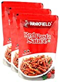 #1: Hypercity Combo - Weikfield Red Pasta Sauce Tangy Salsa , 200g (Buy 2 Get 1, 3 Pieces) Promo Pack