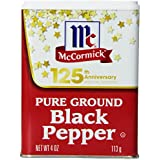 McCormick Pure Ground Black Pepper (113g)