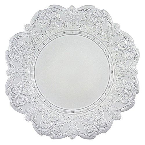 Faiencerie de nider Badonviller Grand Siècle Assiette Blanc 28 cm
