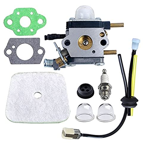 HIPA C1U-K54A Carburateur et Kit Réparation Bougie Tuyau Filtre à