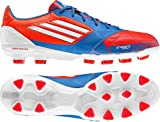 Adidas F50 adizero TRX HG Leder Herren Fussballschuhe, Rot, Größe 42