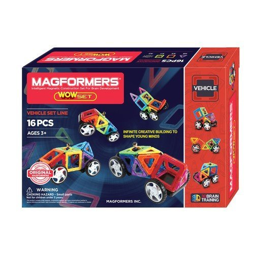 Magformers Wow 20 Piece Magnetic Set World Of Warcraft-modell