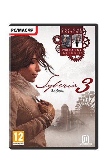 Price comparison product image Syberia 3 – Day One Edition (Syberia 1 + Syberia 2 + Syberia 3 included) (PC DVD)
