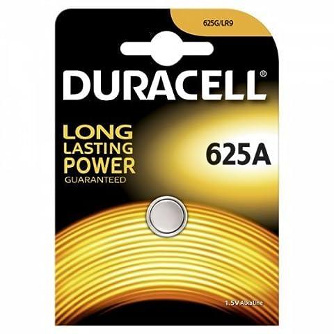 Duracell Knopfzelle Typ 625A 1er Blister, Alkaline, 1,5V