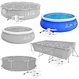 tectake swimming pool komplettset schwimmbad planschbecken schwimmbecken verschiedene modelle. Black Bedroom Furniture Sets. Home Design Ideas