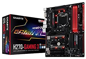 GIGABYTE GA-H270-Gaming 3 ATX 1151 7th Gen DDR4 Motherboard - Black