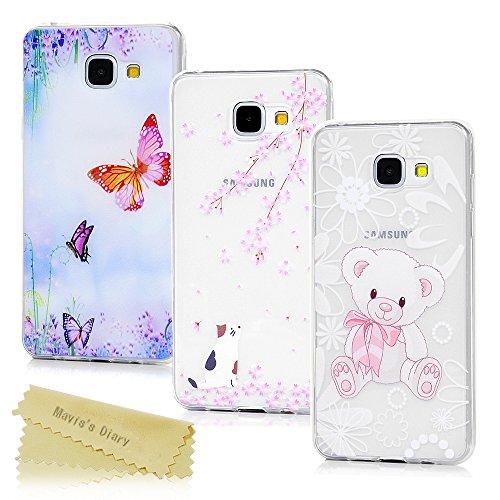 Samsung Galaxy A5 2016 Hülle Case Mavis's Diary 3x Tasche Schutzhülle TPU Softcae Fall Euit Back Cover Bumper Handytasche Scratch Telefon-Kasten Handyhülle Handycover