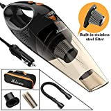 Best BISSELL Black & Decker lightweight vacuum cleaner - Hikeren Car Vacuum Cleaner, DC 12-Volt 106W 4300-4500PA Review