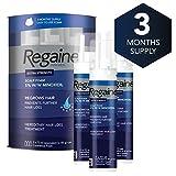 Regaine For Men Foam,  3 Months Supply, 3 x 73ml, for Hair Regrowth