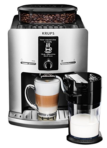 Krups EA829E Latt'Espress – One-Touch-Cappuccino Expresso Full Automatique