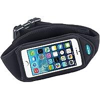 Tune Belt IP5schwarz Kissenbezüge für Handys (Universal, schwarz)