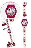 Star  Disney Minnie Reloj de Pulsera Digital, diámetro: 23,5 cm, 2 Colores Surtidos