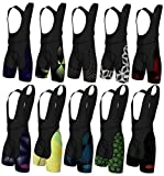 Didoo Men's Performance Cycling Bib Shorts Outdoor Padded Cycle Road Bike Pants M