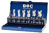 'Craft 19511310006broca de perforación S broca sacanúcleos Cobalt (3/4) en metal láser 7piezas 12/14/16/18/20/22mm/KBE 6Co